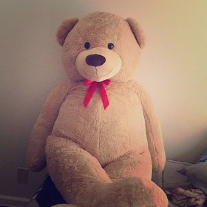 Accessories - Big comfy bear that will be worth your whole.